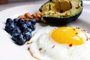 Keto diet is a high fat and low carb diet.