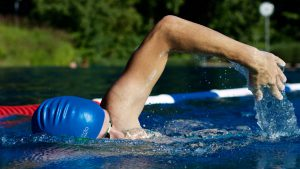 Light aerobic exercises like swimming can be beneficial to your joints.