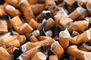 The number of cigarettes the average smokers smokes increases as they age.