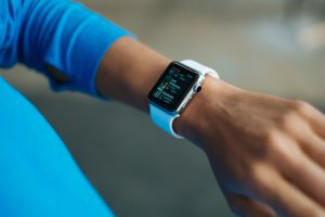 Keep track of your heatlh with the new FitBit app.
