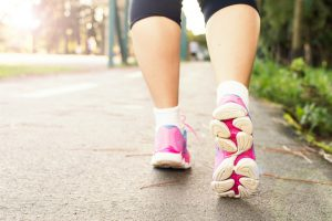 Walking is a simple way to start being active.