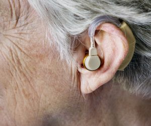 Hearing can slowly diminsh over time with age.