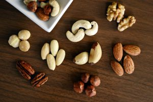 Nuts can decrease the risk of colorectal, pancreatic, and endometrial cancers.