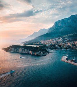 a croatian summer coastline for your getaway