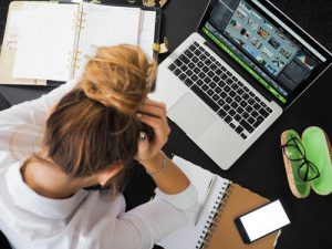 business owner stressed from not having coverage