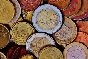 different types of coins for currency and trade