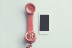 phone for calling to file a health claim