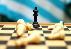 chess pieces to teach business owners risk management