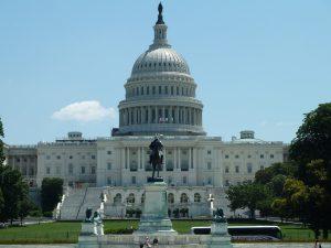 The US Captiol building.