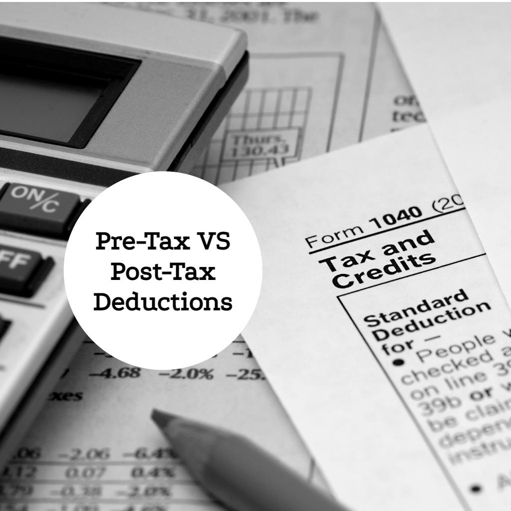 Pre-Tax vs After-Tax Deductions - EZ.Insure